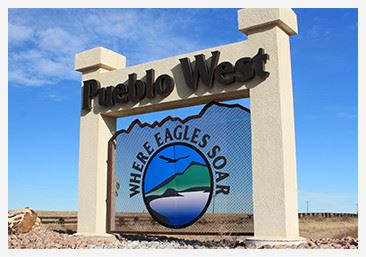 Pueblo West - Where Eagles Soar